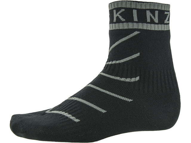 Sealskinz Super Thin Pro Ankle Socks with Hydrostop Black/Grey
